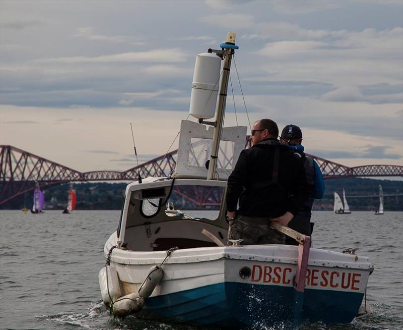 Rescue team at the Dalgety Bay SC Annual Regatta - photo © Ruby Rennie