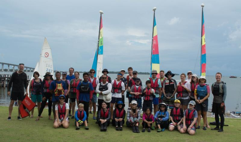 Royal Brunei Yacht Club sailors during Bart's Bash 2017 - photo © Royal Brunei Yacht Club
