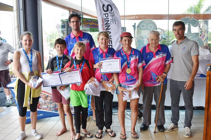 Mat Belcher visits the Queensland Youth Championships - photo © Chris Ison