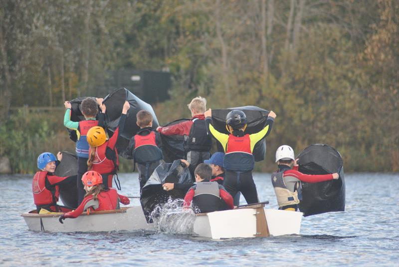 Improvers and a fun session at Ripon Sailing Club - photo © Gail Jackson
