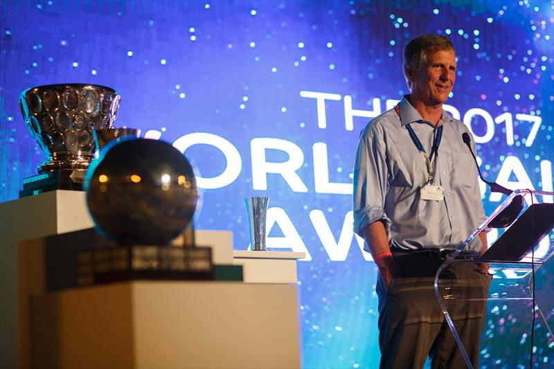 Stan Honey - Winner of the President's Trophy at the 2017 Rolex World Sailor of the Year Awards - photo © Eder Acevedo
