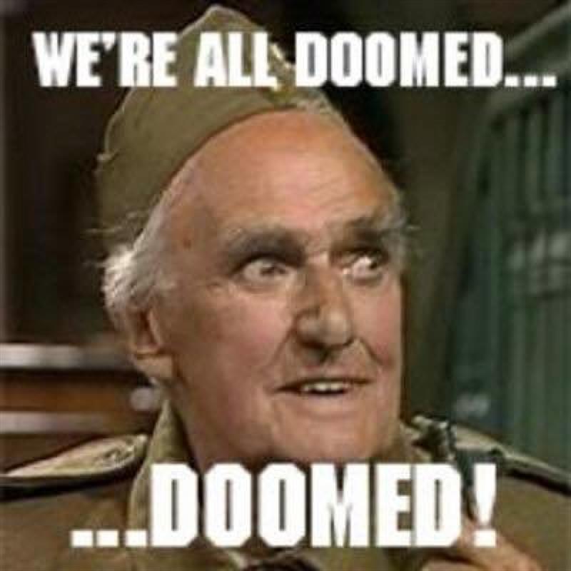 Doomed! - photo © BBC