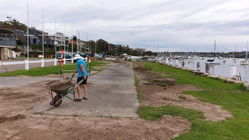 Volunteers at Drummoyne Sailing Club in Sydney - photo © Alex Palmer