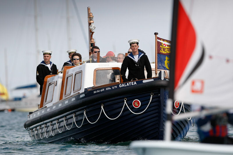 HRH the Princess Royal joins young sailors at Isle of Wight OnBoard Festival