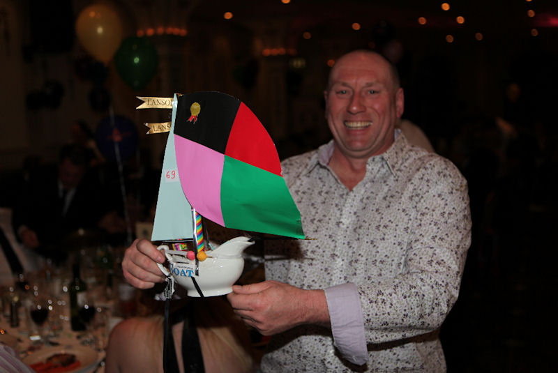 Winner of the build a boat competition at the NE Sailing Ball