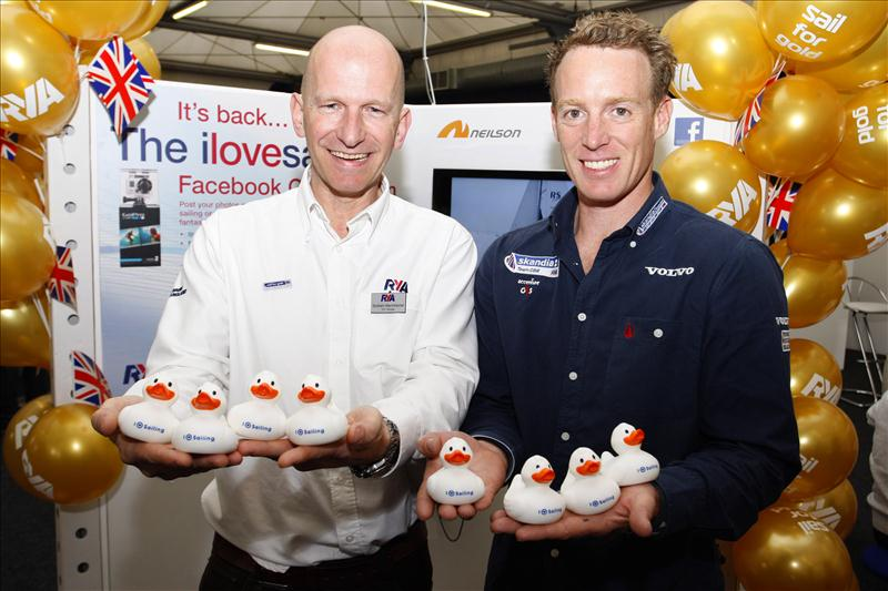 Paul Goodison officially re-launches the ilovesailing Facebook competition for 2012