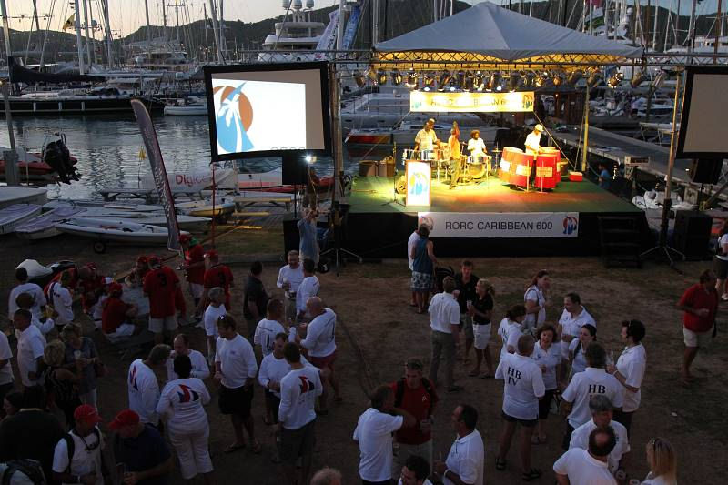 The RORC Caribbean 600 Welcome Party at Antigua Yacht Club