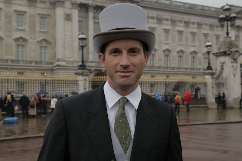 Sir Ben Ainslie receives his knighthood
