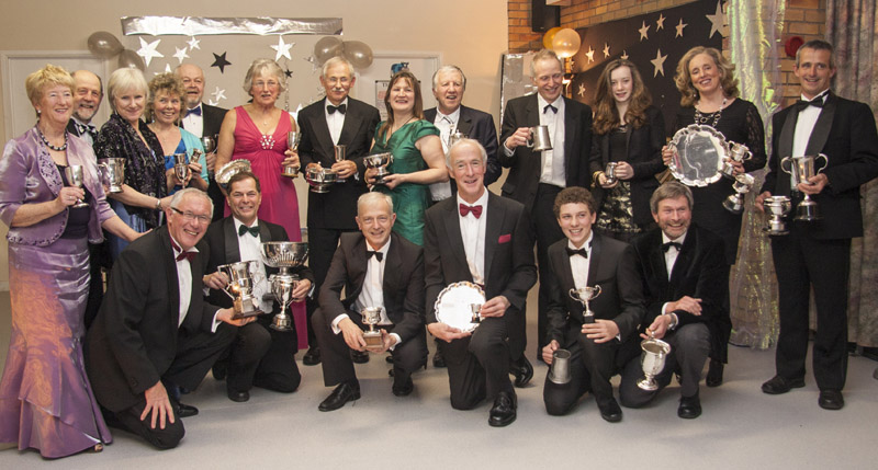 Exe Sailing Club prizewinners