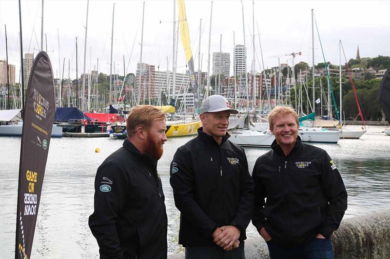 Tom Spithill, James Spithill, Ben Rahilly - Australian Invictus Yacht - photo © Morgan Kasmarik