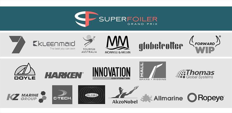SuperFoiler Grand Prix Sponsors - photo © SuperFoiler