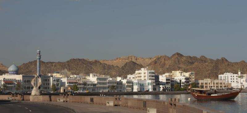 View of the town of Mutrah close to Muscat, Oman - photo © Mark Lloyd / Lloyd Images