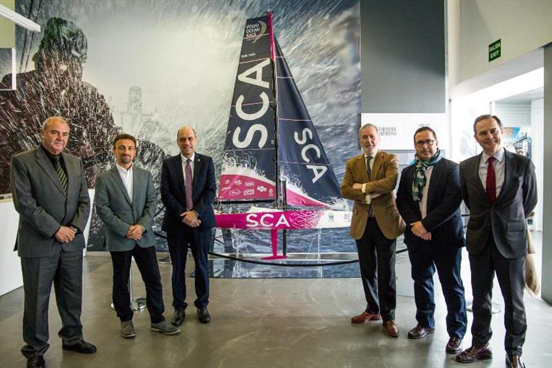 2017-18 Economic Impact Study press conference at the Volvo Ocean Race Museum. 08 March, 2018 photo copyright Marina García / Volvo Ocean Race taken at