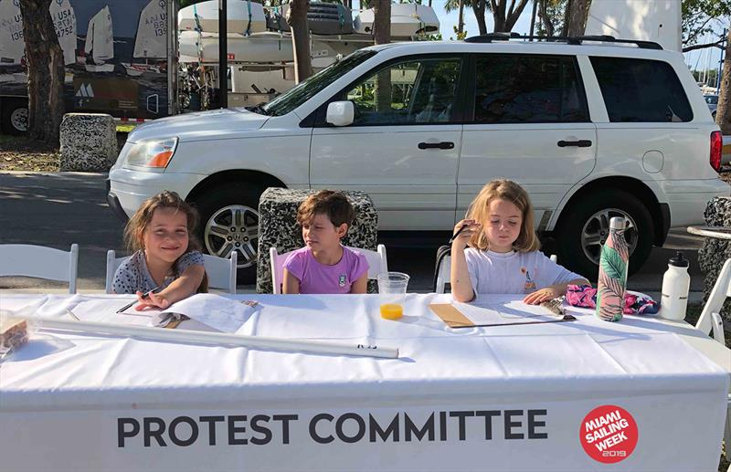 2019 Annual Miami Sailing Week - Protest Committee - photo © Cory Silken