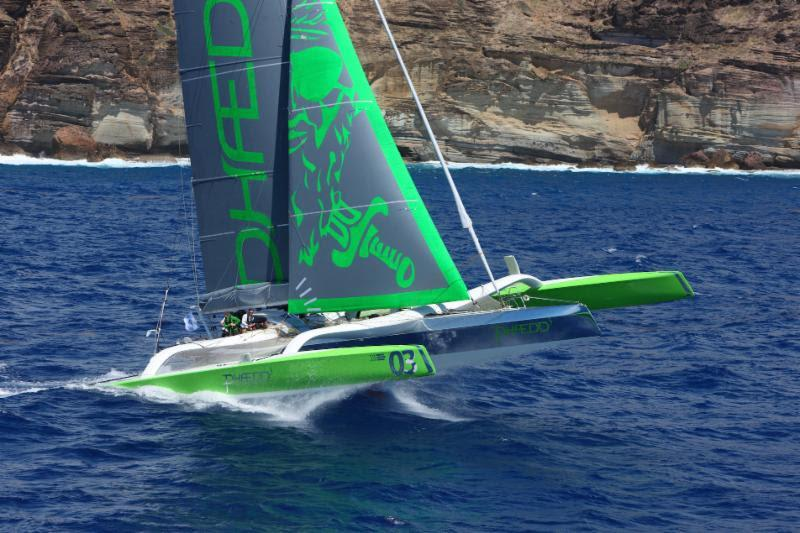 Multiple record holder, Lloyd Thornburg's MOD70, Phaedo3 set the multihull benchmark in the RORC Caribbean 600 earlier this year