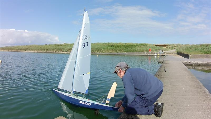 Vane 'A' Bradford Cup at Fleetwood photo copyright Tony Wilson taken at Fleetwood Model Yacht Club and featuring the Model Yachting class