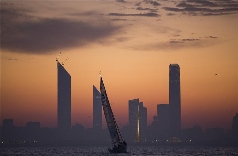 EFG Bank Sailing Arabia - The Tour Abu Dhabi In-Port races