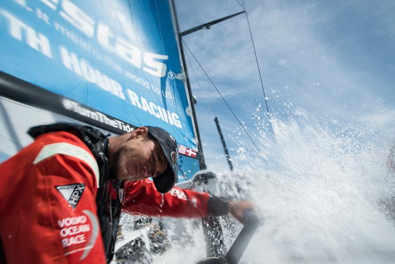 Vestas 11th Hour Racing in training with the new Musto collection - photo © Will Suto / Volvo Ocean Race