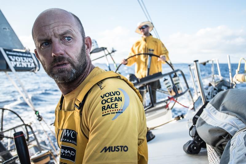 Ian Walker, skipper of Abu Dhabi Ocean Racing - photo © Matt Knighton / Abu Dhabi Ocean Racing / Volvo Ocean Race