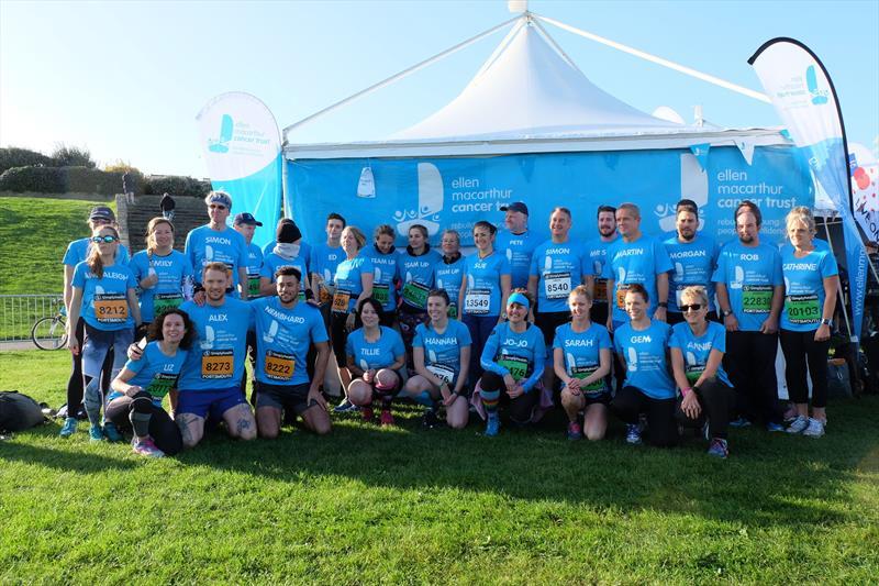 The Great South Run team raising funds for the Ellen MacArthur Cancer Trust - photo © Ellen MacArthur Cancer Trust