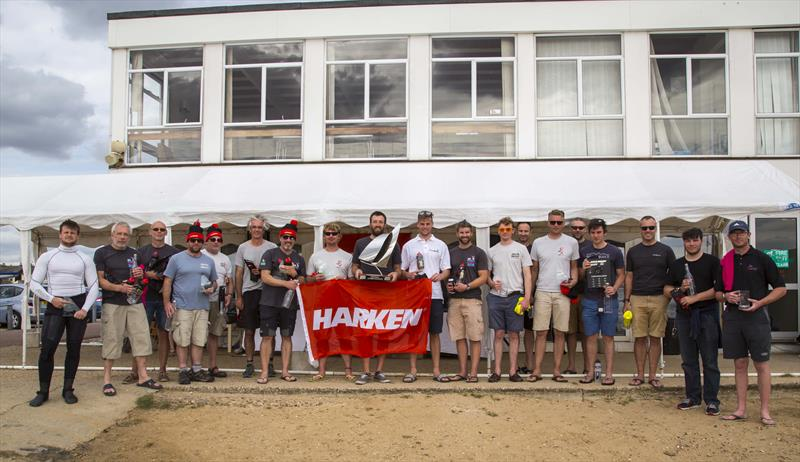 Harken UK Musto Skiff Nationals at Brightlingsea prize winners - photo © Tim Olin / www.olinphoto.co.uk