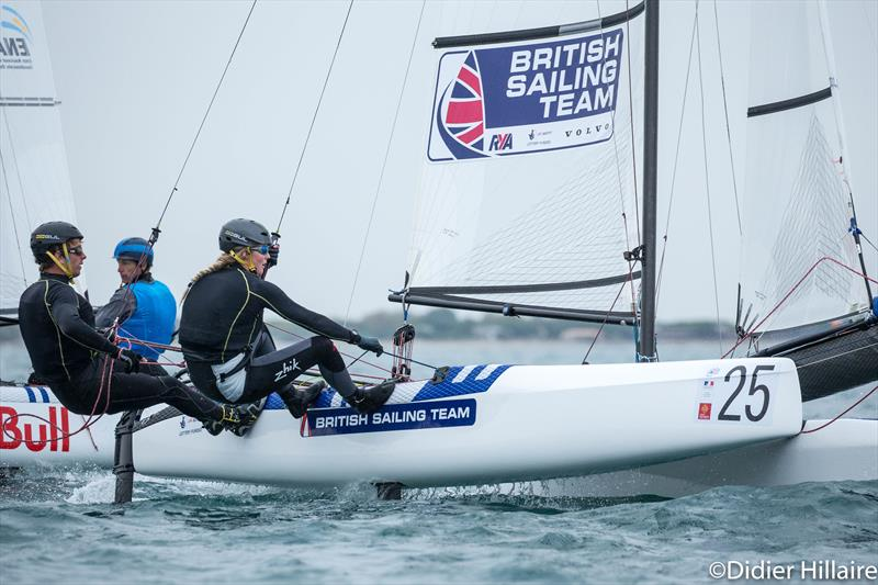 Ben Saxton and Katie Dabson win the Nacra 17 Worlds at la Grande Motte - photo © Didier Hilliare