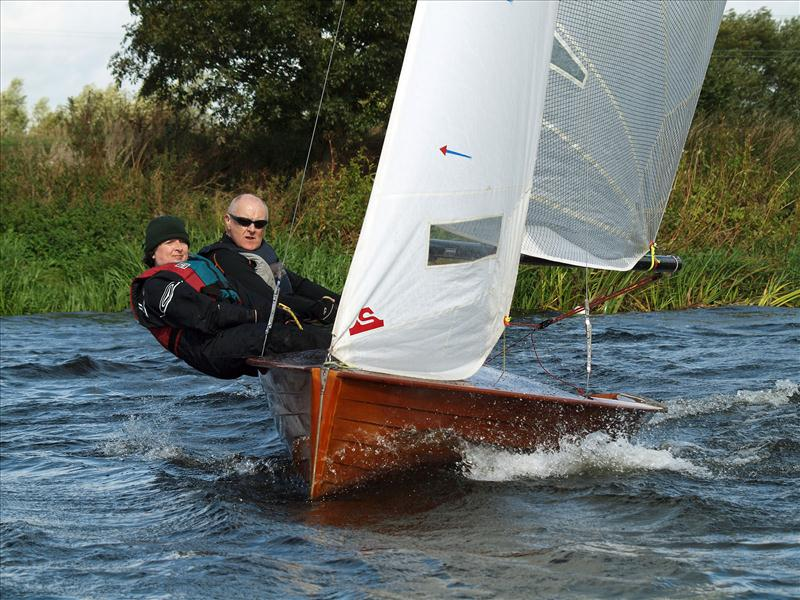 National 12s at Trent Valley photo copyright Kevan Bloor taken at Trent Valley Sailing Club and featuring the National 12 class