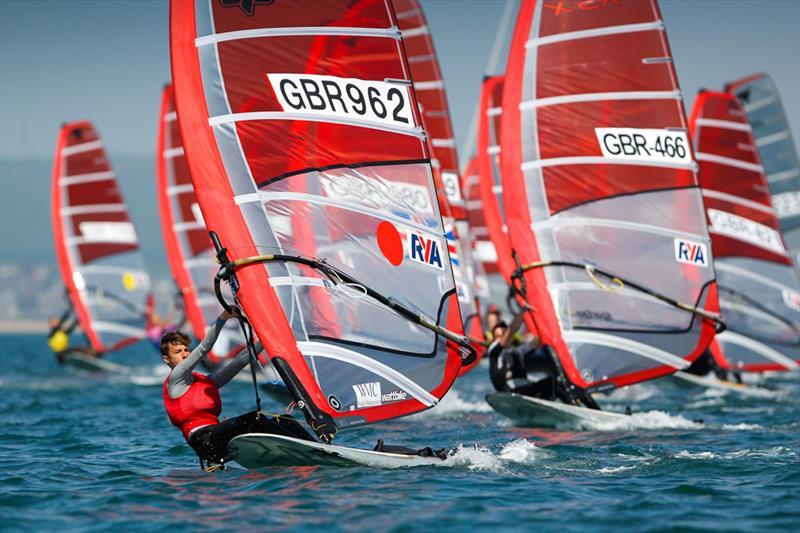 Dan Wilson on day 4 of the RYA Youth National Championships - photo © Paul Wyeth / RYA