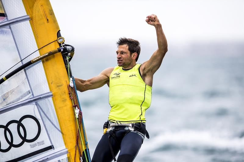 Toni Wilhelm wins Sailing World Cup Weymouth and Portland - photo © Jesus Renedo / Sailing Energy / World Sailing