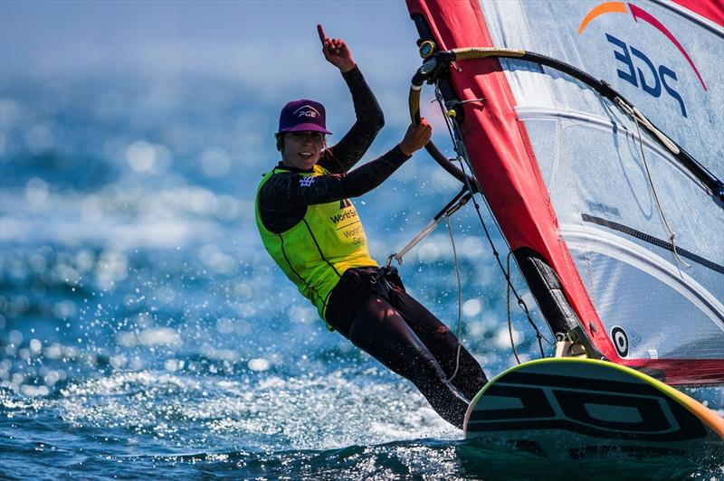 Zofia Noceti-Klepacka wins the Women's RS:X class at World Cup Hyères - photo © Pedro Martinez / Sailing Energy / World Sailing