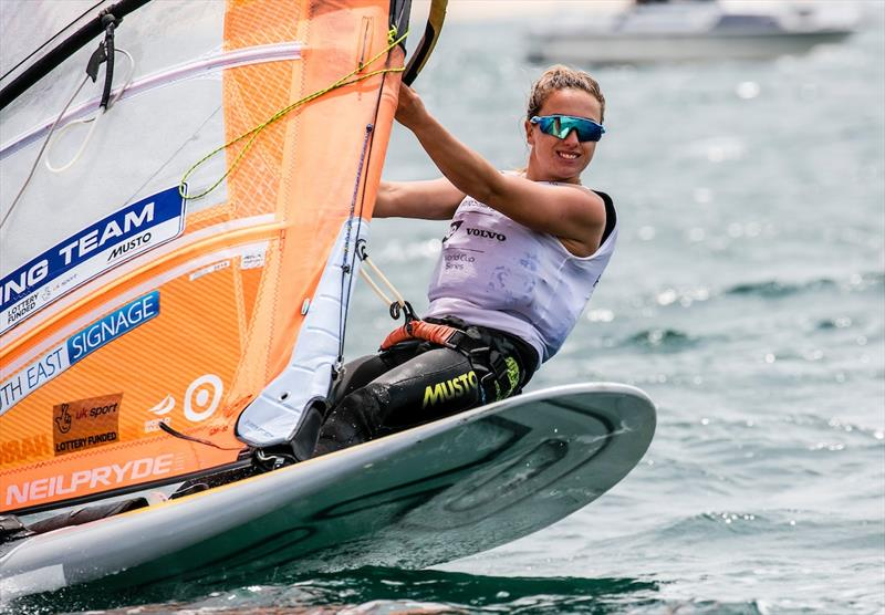 Izzy Hamilton on day 3 of the World Cup Series Final in Santander - photo © Jesus Renedo / Sailing Energy / World Sailing