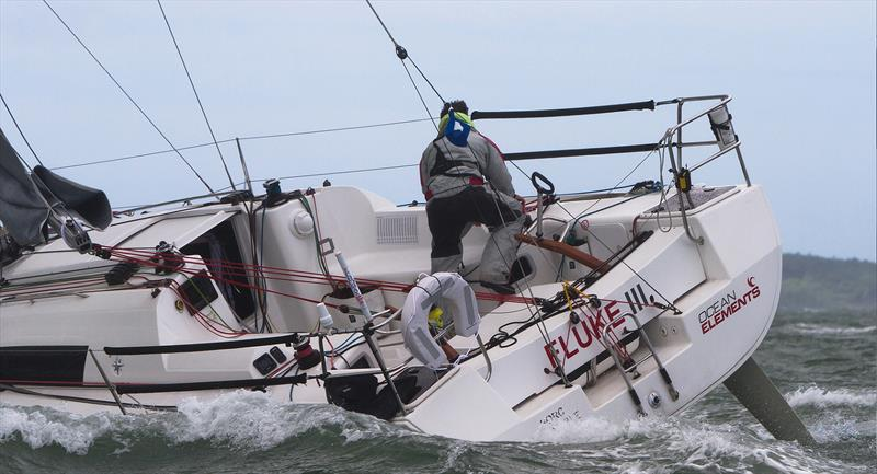 James Hardiman aboard his yacht Fluke III - photo © Ocean Elements