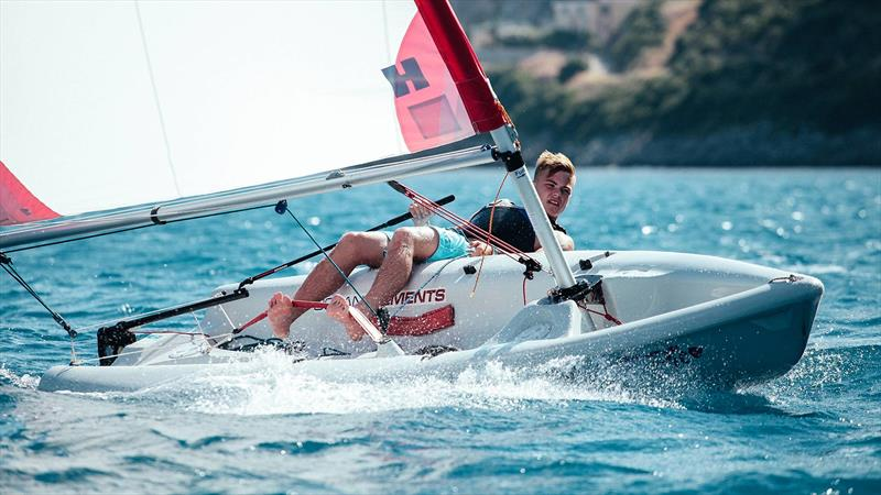 Dinghy sailing at Ocean Elements photo copyright Ocean Elements taken at  and featuring the  class