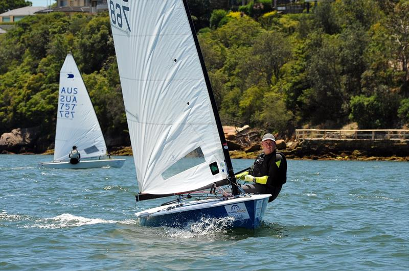 Five-time defending champion Mark Jackson on day 2 at the Australian OK Nationals - photo © Bruce Kerridge