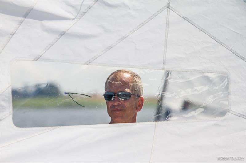 Mats Caap at the OK Dinghy European Championship - photo © Robert Deaves