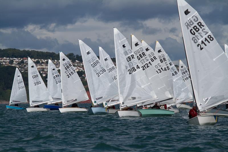 Ok Dinghy National Championships At Brixham Yacht Club