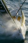 Cheminées Poujoulat first into the Indian Ocean in the Barcelona World Race - photo © Barcelona World Race