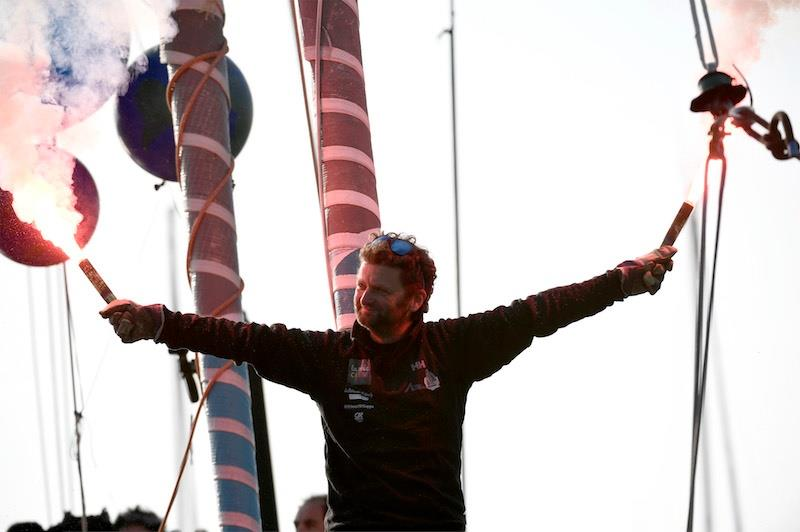 Arnaud Boissières finishes 10th in the Vendée Globe - photo © Olivier Blanchet / DPPI / Vendee Globe