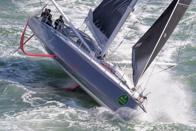 IMOCA 60 Malizia - Yacht Club de Monaco during the Rolex Fastnet Race - photo © Rolex / Carlo Borlenghi