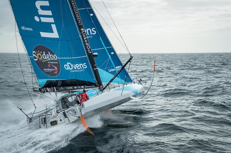 LinkedOut during the Vendée Globe  - photo © Pierre Bouras