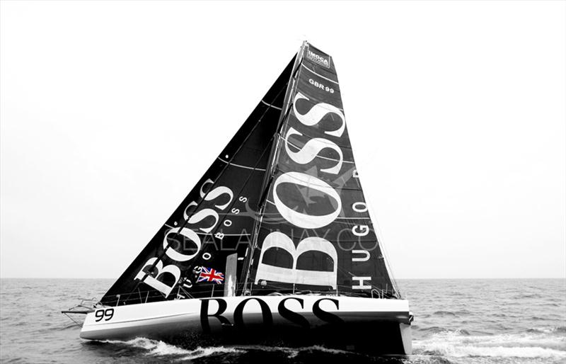 Alex Thomson smashed the under 60&#39; single-handed monohull transatlantic record