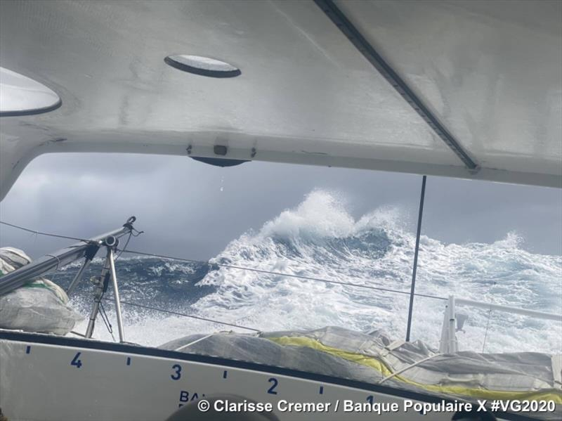 Clarisse Cremer on Banque Populaire X in the Vendée Globe - photo © Clarisse Cremer / Banque Populaire X