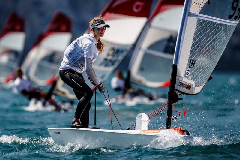 O'pen Bic Worlds at Lake Garda day 1 - photo © Jacopo Salvi