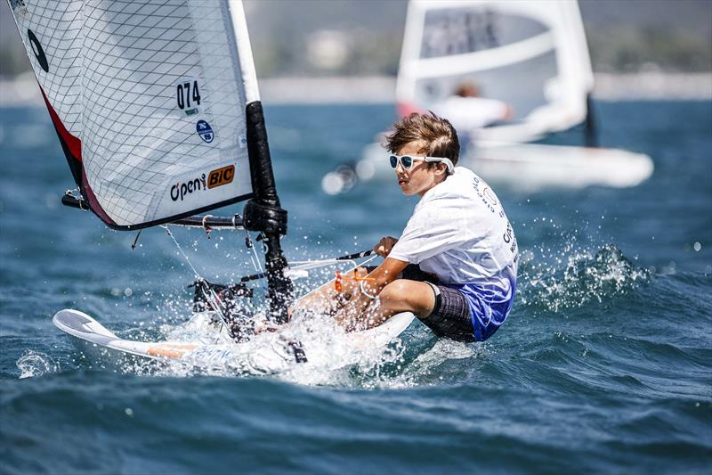 O'pen Bic Worlds at Lake Garda day 2 - photo © Jacopo Salvi