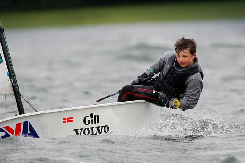 Drew Gibbons at the 2014 RYA Eric Twiname Championships - photo © Paul Wyeth / RYA