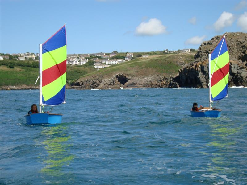 Kids sailing at Solva Sailing Club - photo © SSC