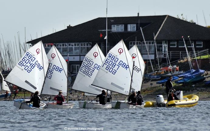 Oppies at Draycote credit  photo copyright Malcolm Lewin Photography taken at Draycote Water Sailing Club and featuring the Optimist class