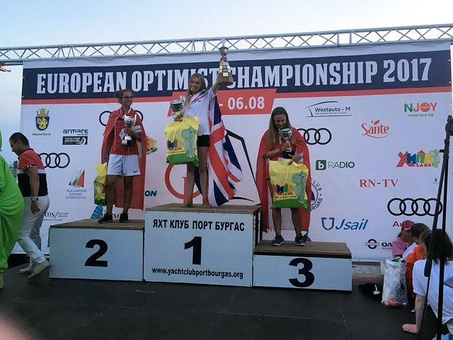 India Page-Wood wins the Optimist Europeans in Bulgaria - photo © Kristine Page-Wood