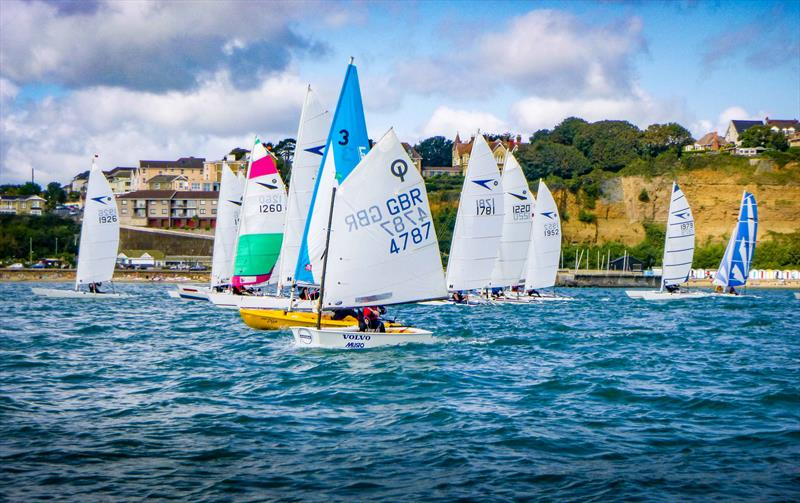 Shanklin Regatta 2017 photo copyright Todd Murrant taken at Shanklin Sailing Club and featuring the Optimist class