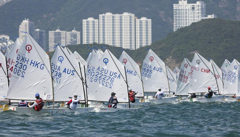 2017 Optimist Asian and Oceanian Championship day 2 - photo © 2017 Optimist Asian & Oceanian Championships / Guy Nowell